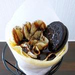 クレープスポット - 料理写真:バナナオレオクレープ