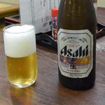 浜屋旅館 - 瓶ビール(650円)