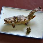 丸丸亭 - イワナの塩焼き