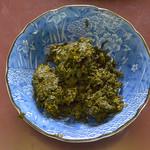 丸丸亭 - 山椒の葉