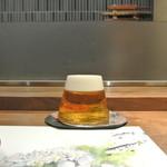日本料理 潤花 - ドリンク写真:クラシック生富士山グラス