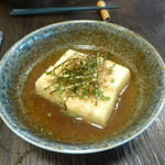 和酒と旬菜じじや - 揚げ出し豆腐