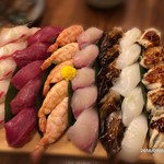 林屋 - 最後はお寿司