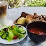 ブーランジェリー&カフェ マンマーノ - ブランチセット