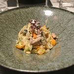 リストランテ カノフィーロ - 秋刀魚とフィノッキオのアーリオオーリオ スパゲッティ