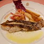 ピッツェリア・サバティーニ - 長崎産鮮魚のグリル香草レモンのソース
