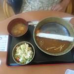 青林檎 - ダムカレーご飯少な目