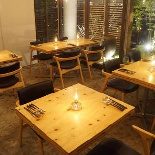 洋と和を組み合わせた『NYにある日本のレストラン』。