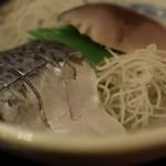西新宿 小町食堂 - 黒酢〆さば 360円