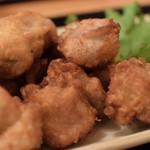 西新宿 小町食堂 - 大盛から揚げ 490円