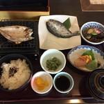うすずみ温泉 四季彩館 - 料理写真:お昼の川魚の定食