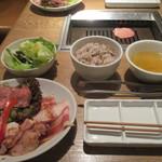 表参道焼肉 KINTAN - 30日熟成KINTAN(2枚)入り焼肉セット