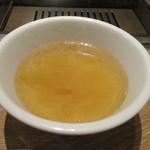 表参道焼肉 KINTAN - ランチスープ