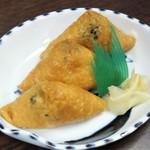 立花屋 - 料理写真:稲荷寿司100円×3個