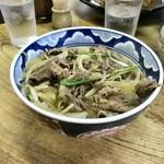 かねと食堂 - 肉丼(680円)_2018年9月