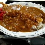 ひら川 - カツカレー600円。