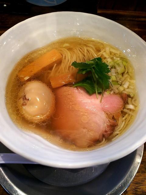 麺屋 卓朗商店 - 塩くん玉らぁ麺¥850