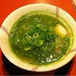 紅茶ラーメン紅 KURENAI - 青汁ラーメン¥700