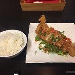 Chuukadainingushinka - 油淋鶏定食950円税込