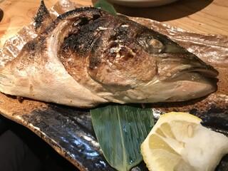 漁十八番 - ぶり釜焼き