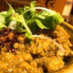 麺場 浜虎 - キーマカレーライスは腹の足しにね(笑)味はフツー