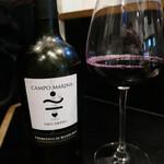 焼き鳥 陀らく - 赤ワイン