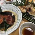 和食処 こばやし - 金目鯛、カマ
