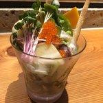 吉祥寺 三うら - 畑の採りたて野菜のサラダ