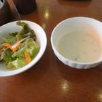 花きゃべつ - サラダ&スープ