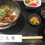 飛騨牛焼肉・韓国料理 丸明 - カルビ丼ランチ
