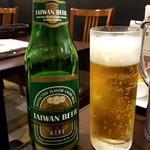 台湾小籠包 - 台湾ビール:480円+税