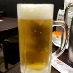 台湾小籠包 - サッポロ生ビール:480円+税