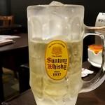 台湾小籠包 - 角ハイボール(飲んでない):350円+税