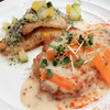 ビストロ アオキ - 料理写真:ある日のコンビネーションランチ(ライスorパンつきでライスを選択)