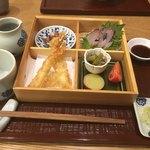 むらおか - 松花堂セットは…お蕎麦がついてお得な1500円!