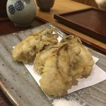 むらおか - 牡蠣の天ぷらが美味すぎる!
