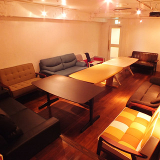 完全個室あり!!おこもり感抜群の大人の空間