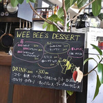 WEE BEE'S - デザートメニュー