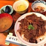 割烹 ひやま - 料理写真:にいがた和牛上カルビ丼(税抜1,600円)