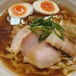 鶏と魚 - 味玉煮干醤油らぁ麺 手もみ麺
