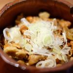 Grill&Wine TOSAKA - 鶏ひつまぶし 1200円