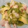 BLAKES - 料理写真:真鯛とアボカドのバジルソース和え