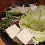 しゃぶしゃぶ温野菜 - 野菜(アラカルト)
