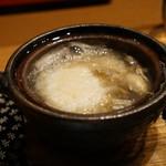 平花とんぼ - 牡蠣の小鍋