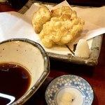 天作 - とうもろこしの天ぷら400円