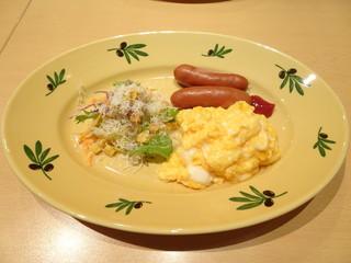 久米ピッツァlumaca - モーニング