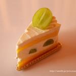 92524902 - シャインマスカットのショートケーキ