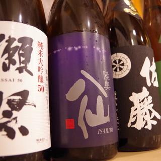 日本全国から集めた厳選地酒をご堪能ください
