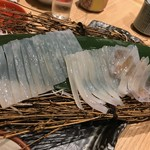 日本橋イカセンター - 透き通ったゲソ