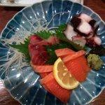 昭和食堂 - お造り三点盛り